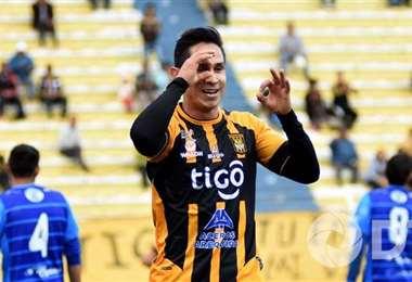 Marvin Bejarano, lateral del equipo atigrado. Foto: internet