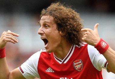 David Luiz no se mueve de la Premier League
