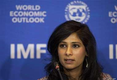 La economista jefe del FMI. Foto Internet