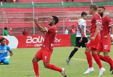 Juan Vogliotti, delantero argentino que juega en Guabirá. Foto: internet
