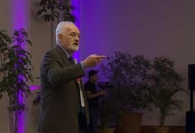 Guillermo Aponte, presidente a.i. del BCB