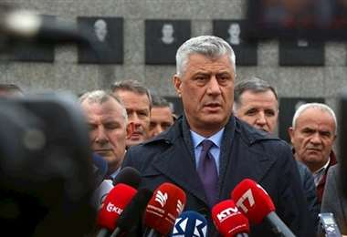 Presidente de Kosovo, Hashim Thaci, acusado de crímenes de guerra