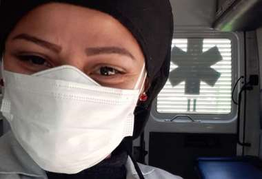 Carmen Parra, médica venezolana en Perú