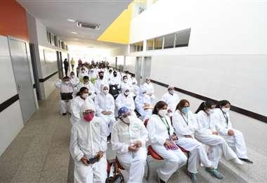 La Alcaldía dijo que la reducción de salarios no incluye al personal de salud, guardias municipales y otros  trabajadores protegidos por ley/Foto: Alcaldía cruceña