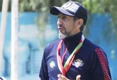 Cristian Díaz, entrenador argentino del club Wilstermann. Foto: internet