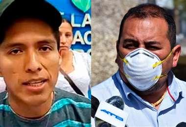 Andrónico Rodríguez y Wilson Santamaría