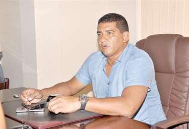 Marco Rodríguez, vicepresidente de la  Federación Boliviana de Fúbol. Foto: internetl
