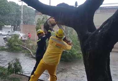 La unidad de emergencia del municipio atendió los llamados
