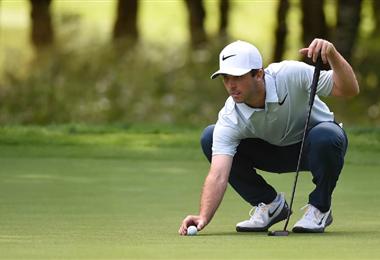 Denny McCarthy debió retirarse del torneo de golf al dar positivo