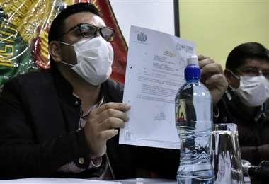 Director del INRA, Alejandro Machicao. Foto APG Noticias