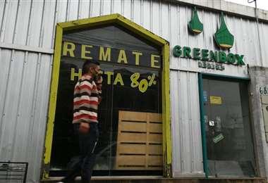 La tienda Green Box Design cerró sus puertas en abril. Foto: Ricardo Montero