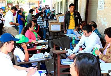 Los comicios electorales tendrán que esperar en la Gabriel. Foto. Internet