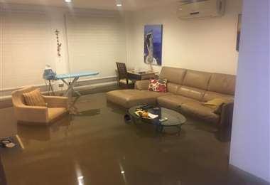 Inundación 7mo anillo zona norte