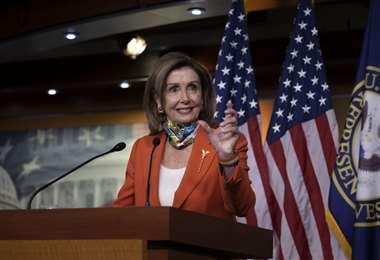 La titular de la Cámara de Representantes. Foto AFP