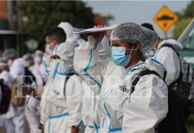 Se necesitan recursos económicos para seguir luchando contra la pandemia.