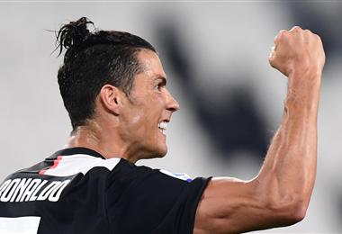 Ronaldo aportó con un tanto en la goleada