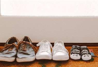 La mejor zona para dejar los calzados luego de estar en la calle, en cerca de la puerta