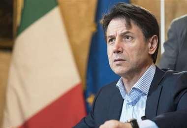 Giuseppe Conte es el primer ministro de Italia. Foto Internet