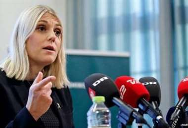 La ministra danesa de Defensa. Foto Internet