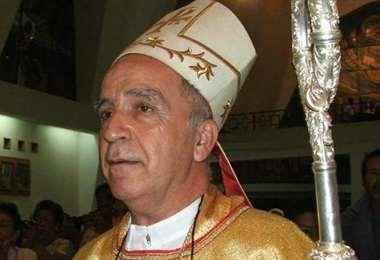Monseñor Eugenio Arellano, presidente de la Conferencia Episcopal de Ecuador. Foto Internet
