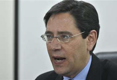 Salvador Romero preside el Tribunal Supremo Electoral. (APG))