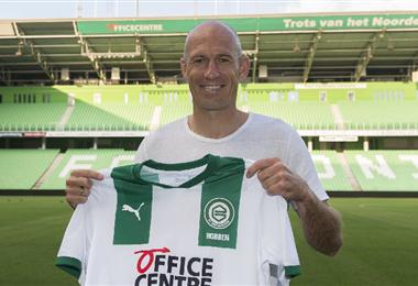 Arjen Robben había anunciado su retirada en julio de 2019