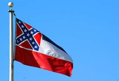 La bandera de Misisipi. Foto Internet