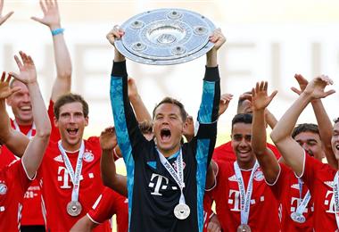 Bayern Múnich viene de ganar el título de la Bundesliga