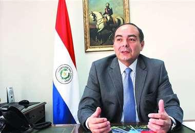 El canciller paraguayo. Foto Internet