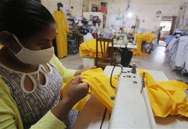 El Gobierno prevé generar 50.000 empleos por mes/Foto: Jorge Ibañez