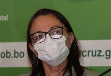 La ministra de Salud, Eidy Roca. Foto: Hernán Virgo