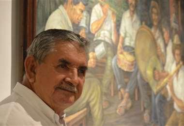 De pocas palabras pero siempre con una sonrisa, Seferino Álvarez fue el guardian de la Casa de la Cultura por 39 años/Foto: Fernando Figueroa