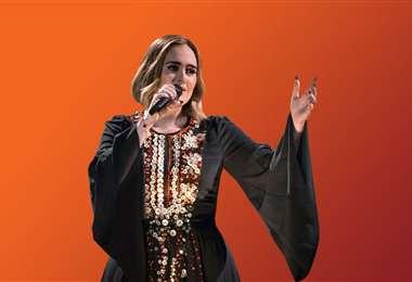 Con un vestido que usó en 2016, Adele presumió su nueva figura