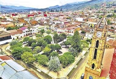 Los sismos se registraron a 46 kilómetros de la ciudad de Vallegrande