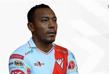 Edemir Rodríguez, defensor de Always Ready. Foto: Club Always Ready