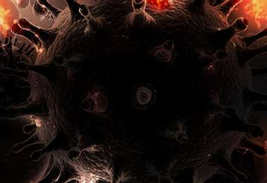 El nuevo coronavirus. Foto La Tercera