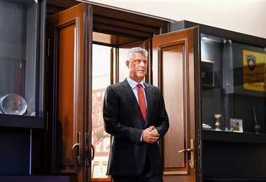 El mandatario de Kosovo. Foto AFP
