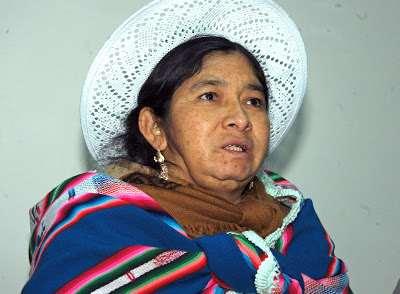 La exconstituyente Silvia Lazarte  Foto: Redes Sociales