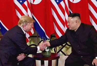 Trump y Kim se reunieron por segunda vez en Hanói. Foto Internet