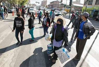 La situación en Cochabamba. Foto: APG