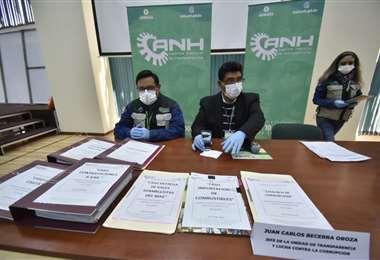 Conferencia de prensa de la ANH I APG Noticias.