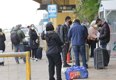 Varios pasajeros resultaron afectados /Foto: Jorge Gutiérrez