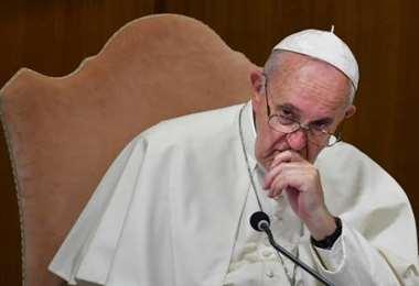 El Sumo Pontífice repudió los actos de violencia y el racismo