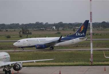Las aerolínea es la única que comenzará a volar/Foto: Fuad Landívar