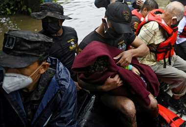 Amanda causa destrozos en El Salvador, Guatemala y Honduras
