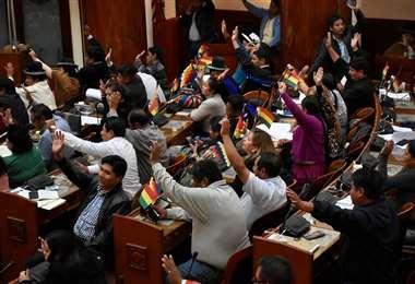 Una sesión de Asamblea. Foto: APG Noticias.