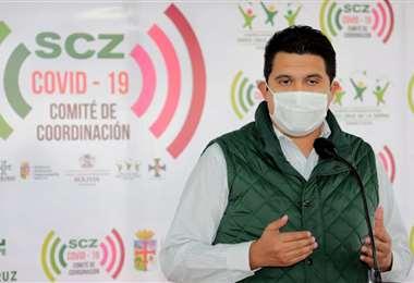 Vladimir Peña. Foto: Gobernación