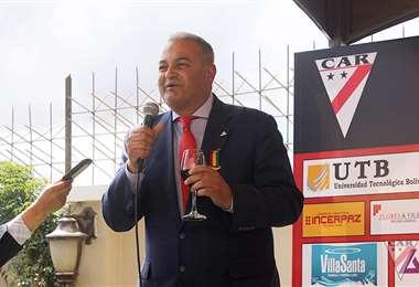 Fernando Costa, presidente del Club Always Ready de La Paz. Foto: internet