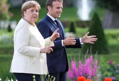 Merkel y Macron piden acuerdo en UE