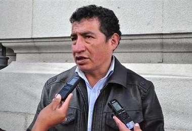 El diputado Víctor Borda. Archivo
